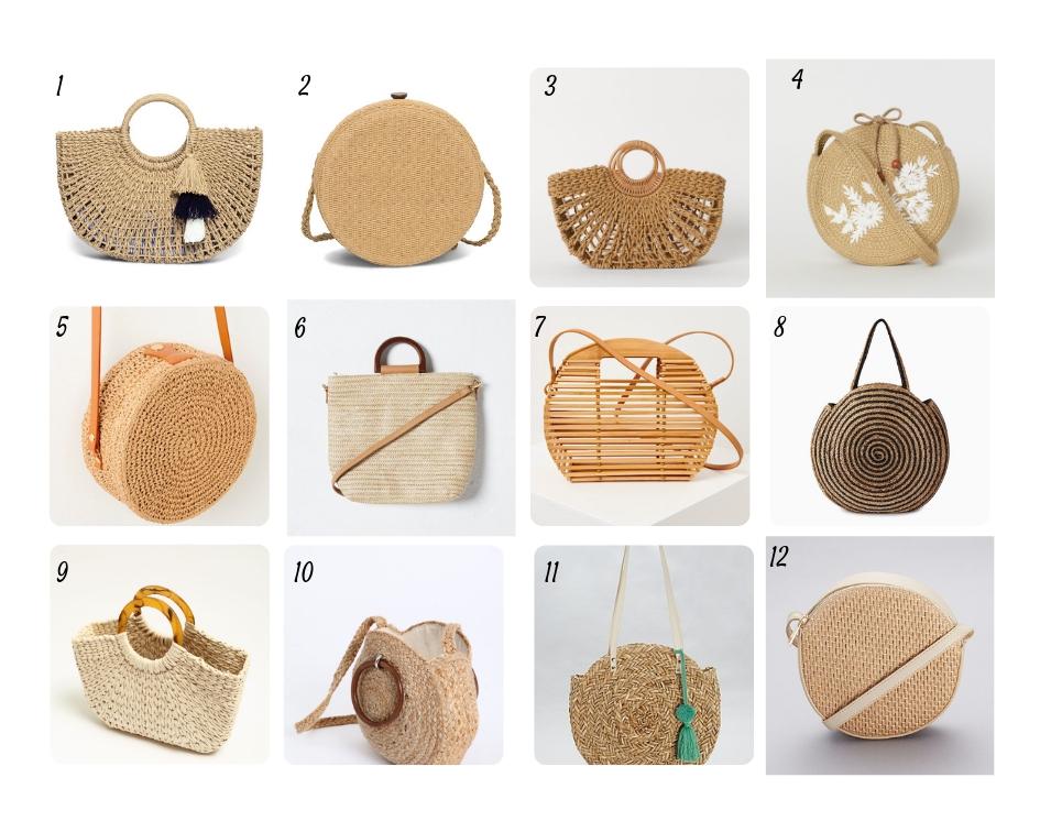 uk availability separation shoes utterly stylish Shopping tendance, le sac en osier ! – LesdestinationsdePam